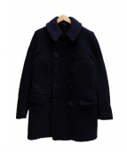 Rags McGREGOR(ラグスマックレガー)の古着「10BUTTONS PEA COAT」|ネイビー
