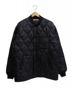 COOTIE PRODUCTIONS(クーティー プロダクションズ)の古着「X WIDE CWU‐9 QUILTING JACKET」|ブラック