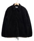 COOTIE PRODUCTIONS(クーティー プロダクツ)の古着「Boa Coach Jacket」|ブラック