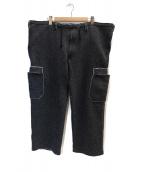 YohjiYamamoto pour homme(ヨウジヤマモトプールオム)の古着「ウールパンツ」|グレー
