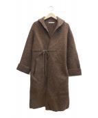 45rpm(フォーティファイブアールピーエム)の古着「ウールガウンコート」|ブラウン