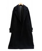 stein(シュタイン)の古着「OVERSIZED LESS COAT」|ブラック