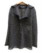 JUNYA WATANABE CDG(ジュンヤワタナベコムデギャルソン)の古着「ドットジャケット」|ブラック