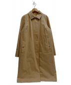 ()の古着「ライナー付ステンカラーコート」|ベージュ