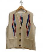ORTEGAS(オルテガ)の古着「チマヨベスト」 アイボリー