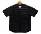 NANGA(ナンガ)の古着「半袖ダウンジャケット」|ブラック