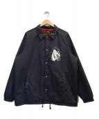 GANGSTERVILLE(ギャングスタビル)の古着「コーチジャケット」|ブラック