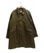 Sanca(サンカ)の古着「ライナー付きミリタリーコート」|オリーブ