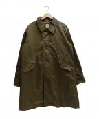 sanca(サンカ)の古着「ライナー付きミリタリーコート」 オリーブ