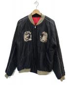 東洋エンタープライズ(トウヨウエンタープライズ)の古着「スカジャン」|ブラック