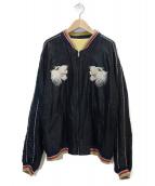 TAILOR TOYO(テイラートーヨー)の古着「スカジャン」|ブラック