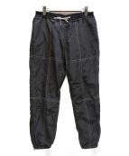 BAL(バル)の古着「ストレッチナイロントラックパンツ」 ブラック