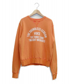 AP STUDIO(エーピーステゥディオ)の古着「スウェット」|オレンジ