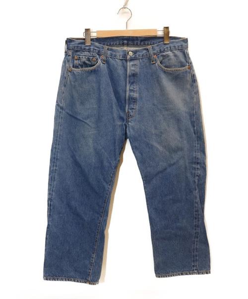 LEVIS(リーバイス)LEVIS (リーバイス) [古着]ヴィンテージ デニム パンツ インディゴ サイズ:表記サイズ:W40 L32 66前期 ボタン裏6の古着・服飾アイテム