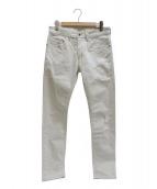 DIESEL(ディーゼル)の古着「デニムパンツ」|ホワイト