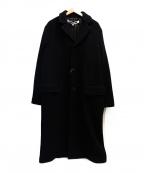 MCQ(マックキュー)の古着「ウールコート」 ブラック