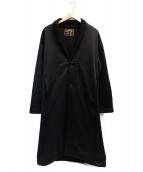 KICS DOCUMENT.(キクスドキュメント)の古着「コート」 ブラック