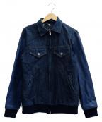 ROTAR(ローター)の古着「切替ジャケット」|ネイビー
