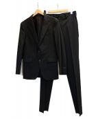 COMME CA MEN(コムサメン)の古着「2Bスーツ」 ブラック