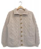 INVERALLAN(インバーアラン)の古着「カーディガン」|ベージュ