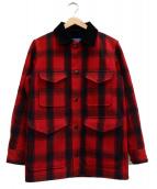 PENDLETON(ペンドルトン)の古着「Street Cruiser Coat」|レッド×ブラック