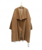 Ungrid(アングリッド)の古着「ガウンコート」 ブラウン