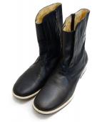 UNDERCOVER(アンダーカバー)の古着「サイドジップブーツ」|ブラック