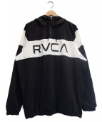 RVCA(ルーカ)の古着「ANORAK JACKET」|ブラック