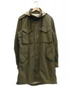 ONES STROKE(ワンズストローク)の古着「Army Coat」|オリーブ