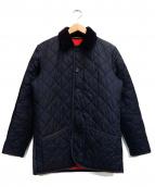 MACKINTOSH(マッキントッシュ)の古着「キルティングジャケット」|ネイビー