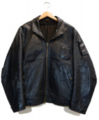 VINTAGE(ヴィンテージ)の古着「パイロットジャケット」|ブラック