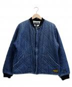 POLO JEANS CO.(ポロジーンズ)の古着「キルティングブルゾン」|ネイビー
