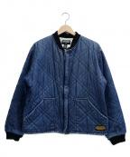 POLO JEANS CO.(ポロジーンズカンパニー)の古着「キルティングブルゾン」|ネイビー