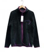 CAL O LINE(キャルオーライン)の古着「フリースジャケット」 グリーン