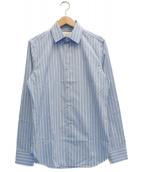 GUCCI(グッチ)の古着「ストライプシャツ」|スカイブルー