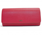 FURLA(フルラ)の古着「長財布」|ショッキングピンク