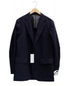 TAGLIATORE(タリアトーレ)の古着「リネン混2Bジャケット」|オリーブ