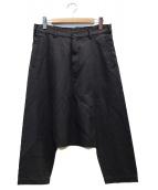 BLACK COMME des GARCONS(ブラックコムデギャルソン)の古着「サルエルパンツ」|グレー
