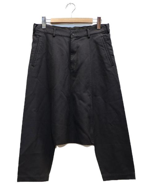 BLACK COMME des GARCONS(ブラックコムデギャルソン)BLACK COMME des GARCONS (ブラックコムデギャルソン) サルエルパンツ グレー サイズ:表記サイズ:L 1K-P008 AD2012の古着・服飾アイテム