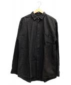 COMOLI(コモリ)の古着「ベタシャンコモリシャツ」 グレー