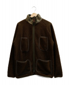 PHERROWS(フェローズ)の古着「フリースジャケット」 オリーブ
