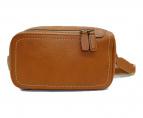 土屋鞄(ツチヤカバン)の古着「トーンオイルヌメボディーポシェット」|ベージュ