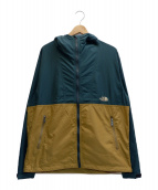 THE NORTH FACE(ザノースフェイス)の古着「Compact Jacket」 グリーン×ベージュ