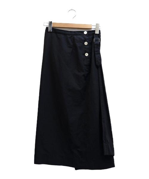 ゴーシュ(ゴーシュ)ゴーシュ (ゴーシュ) 変形スカート ブラック サイズ:表記サイズ:2の古着・服飾アイテム
