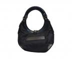 Felisi(フェリージ)の古着「ナイロンハンドバッグ」|ブラック