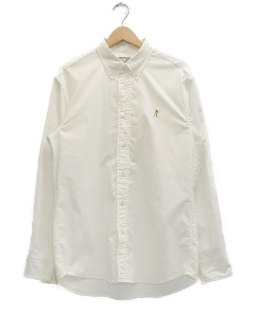 THE NORTH FACE(ザノースフェイス)THE NORTH FACE (ザノースフェイス) L/S Him Ridge Shirt ホワイト サイズ:表記サイズ:L  NR11955の古着・服飾アイテム