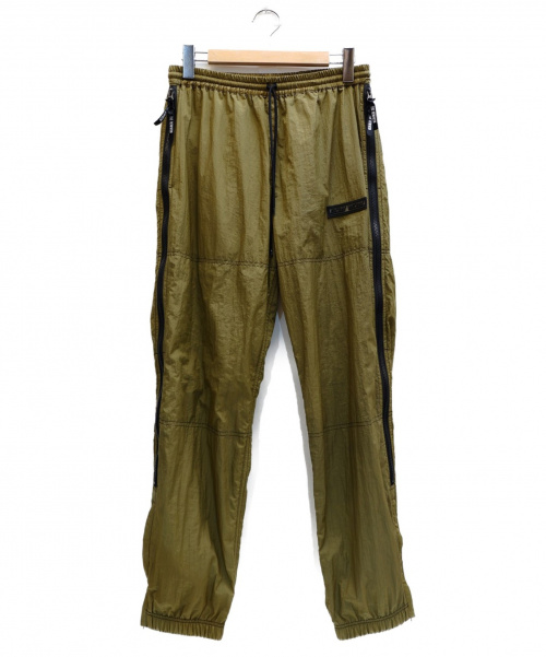 BOWWOW(バウワウ)BOWWOW (バウワウ) VENTILATION TRACK PANTS オリーブ サイズ:表記サイズ:M  BW1902-VTPの古着・服飾アイテム