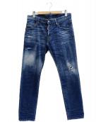 DSQUARED2(ディースクエアード)の古着「SKATER JEAN」|インディゴ