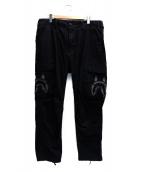 A BATHING APE(アベイシングエイプ)の古着「M65シャークパンツ」|ブラック