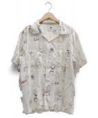GANGSTERVILLE(ギャングスタビル)の古着「シャツ」|アイボリー